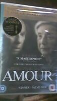 Amour DVD (2013) Jean-Louis Trintignant - 5 Oscar nominations - BRAND NEW SEALED