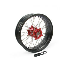 "2.15x18"" Rear Wheel Rim Hub Set for Honda CR125 250 CRF250R CRF450R CRF250X 450X"