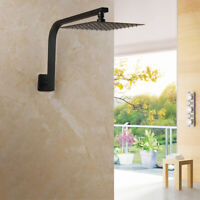 G1/2 Gooseneck Shower Arm For Shower Head Chrome Finished Wall Mounted