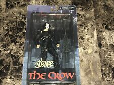 The Crow Signed Eric Draven NECA Cult Classic Action Figure James O'Barr Creator