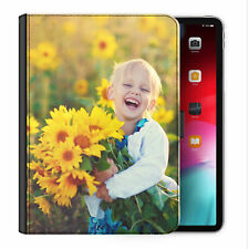 Personalised PU Leather Case, Customised Photo/Text Universal Tablet Flip Cover