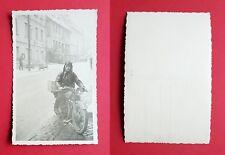 Foto AK NSU moto con autista (36175