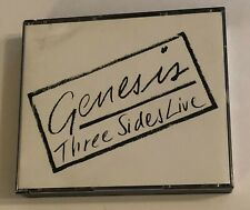 Genesis Three Sides Live 2 CD US 1987 Manufactured in Japan Paperlate 1st Press