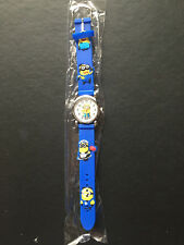 Kid's Despicable Me Minion Analogue (D Blue) Silicone Band wrist watch BRAND NEW