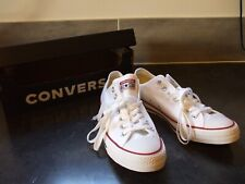 CONVERSE Low Tops ALLSTAR OX Optical White Mens Sneakers Shoes M7652 NEW