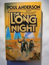 The Long Night by Poul Anderson, Tor Books 1983, Paperback Fantasy Fiction E-81