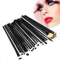 20pcs Makeup Brush Set Foundation Powder Toiletry Kit Wool Cosmetic Brushes tool