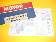 1975 1976 FORD GRAN TORINO SPORT RANCHERO MERCURY MONTEGO VACUUM+WIRING DIAGRAMS