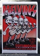 "The Melvins Concert Poster - 2"" X 3"" Fridge / Locker Magnet. Spokane Washington"