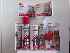 Beaphar Cat Flea Spot on Treatments Fiprotec Collars Fogger Household Treatments