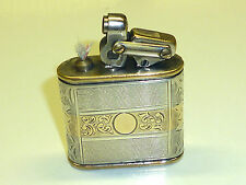 "KW (KARL WIEDEN) ""MODELL 650"" LIGHTER W. 900 SILVER CASE & GOLD - 1932 - GERMANY"