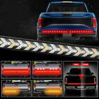 Truck Tailgate Light Bar 48 Arrow Led Strip Sequential Signal Brake For Dodge