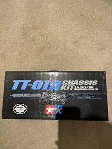 Tamiya TT01R NIB Chassis Kit Includes Gt Tuned Motor Hop Ups (TA01 TA02 TA03)