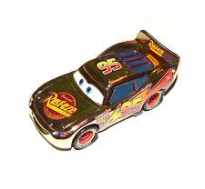 Disney Pixar Cars Diecast Golden Metallic Finish Rust-eze Lightning Mcqueen