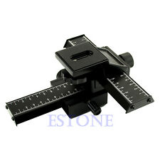 NEW Professional Macro Focusing Focus Rail Slider 4-Way For Nikon Camera DSLR DC