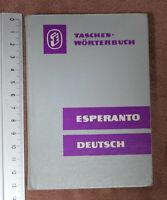 Esperanto Deutsch Taschen-Wörterbuch German pocket dictionary