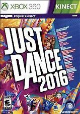 JUST DANCE 2016 * XBOX 360 KINECT * BRAND NEW FACTORY SEALED!