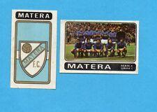 FIGURINA PANINI 1972/73-n.535- MATERA - SCUDETTO+SQUADRA-Recuperata