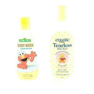 Sesame Street Baby Wash Equate Tearless Baby Wash Ultra Mild All Hair USA Seller