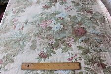 Beautiful Shabby French Antique Chateau Curtain Cotton Fabric Panel c1870-1880