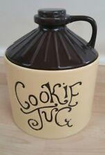 Cookie jug cookie jar ceramic   Little brown jug