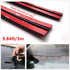 NEW 3M/10ft Black Car Windshield Edge Protector Sealing Strip T-Type Rubber Seal
