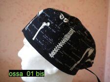 Cuffia chirurgica - Copricapo - Bandana - Surgical cap - ossa_01bis