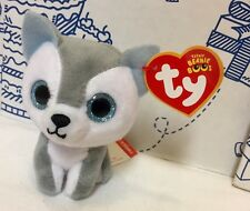 26242501687 New 2017 McDONALD S TY TEENIE BEANIE BOOS Timber Dog Puppy Plush  4 Doll Toy  NW