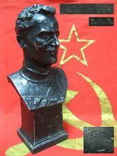 Soviet Space Program bust TITOV astronaut #2 after GAGARIN rocket Russian USSR