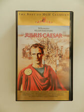 VHS Video Kassette Shakespeare Julius Caesar Marlon Brando James Mason