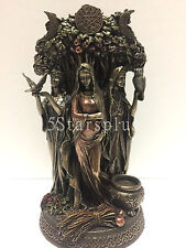 Celtic The Triple Goddes maiden mother and the crone Sculpture Figurine