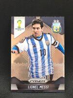 2014 Panini Prizm World Cup #12 Lionel Messi Mint.