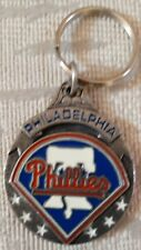 Philadelphia Phillies Keychain Pewter Key Chain Liberty Bell 3D