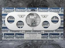 62 63 64 65 Chevy Nova Billet Aluminum Gauge Panel Dash Insert Instrument