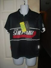 JAKROO MEN'S BLACK, RED & WHITE CYCLING JERSEY SIZE SMALL NEW WITH TAGS, NICE!