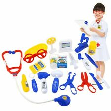 Kids Pretend Play Educational Doctor Case Kit Medical Hospital Supplies Toy Set