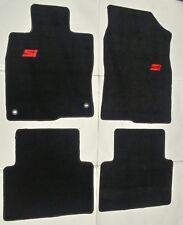 Fits 16-18 Honda Civic 4DR Floor Mats Black 4PC W/Emblem New