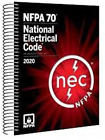NFPA 70, NEC 2020, National Electrical Code SPIRALBOUND