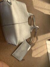 White & Silver Interchangeable handbag, Vgc, Rarely Used M & S