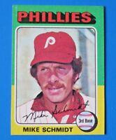 1975 TOPPS MIKE SCHMIDT BASEBALL CARD #70 ~ NM/MT