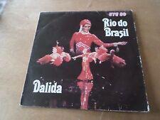 """33 Tours DALIDA """"Rio do brasil"""""""