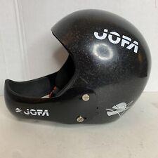 JOFA Helmet Vintage Ski Helmet Size 53-54 Black Sparkle Made in Sweden.