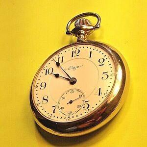 Great 18s, 21 Jewel Veritas, Elgin Pocket  Watch  21j