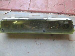 Mitsubishi / Chrysler GE Sigma Instrument Speedo Cluster 1977 - 1980 first gen