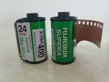 2 Rolls Rolls Fujicolor Negative 35mm Print Film ISO400 24exp