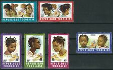 Togo - Frisuren Satz postfrisch 1970 Mi. 780-785