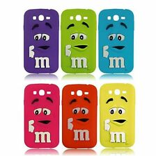 Funda (case) de silicona para Samsung Galaxy J1 M&M