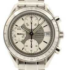 OMEGA Speedmaster Date Chronograph Automatic Silver Dial Men's Watch Ref:3513.30