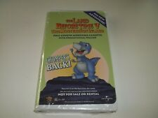 Rare Sealed SCREENING CASSETTE-The Land Before Time V-The Mysterious Island