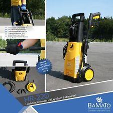 BAMATO HR-220 Hochdruckreiniger 165 bar inkl. 7-tlg. Zubehörset Flächenreiniger